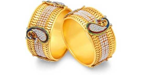 758a787668c Gold Plated Bangles - Buy Gold Plated Bangles online at Best Prices in  India | Flipkart.com