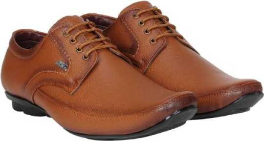 Red Chief Leather Shoes Without Laces