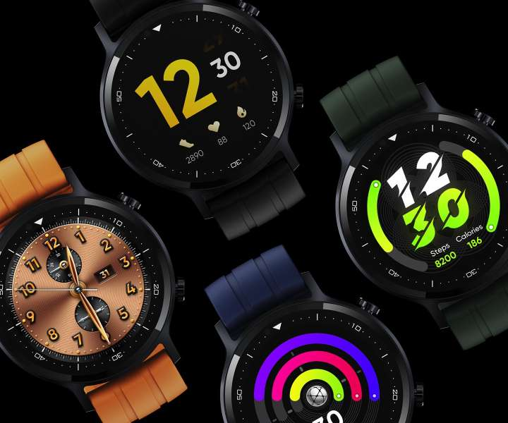 Realme Watch S Watch faces.