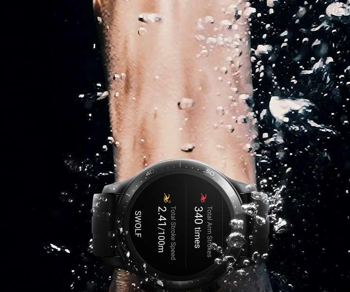 Realme Watch S Pro Swolf Technology