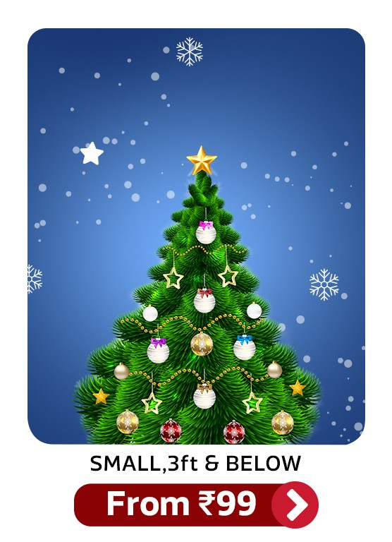 Fourwalls Cedar 50 Cm 1 64 Ft Artificial Christmas Tree