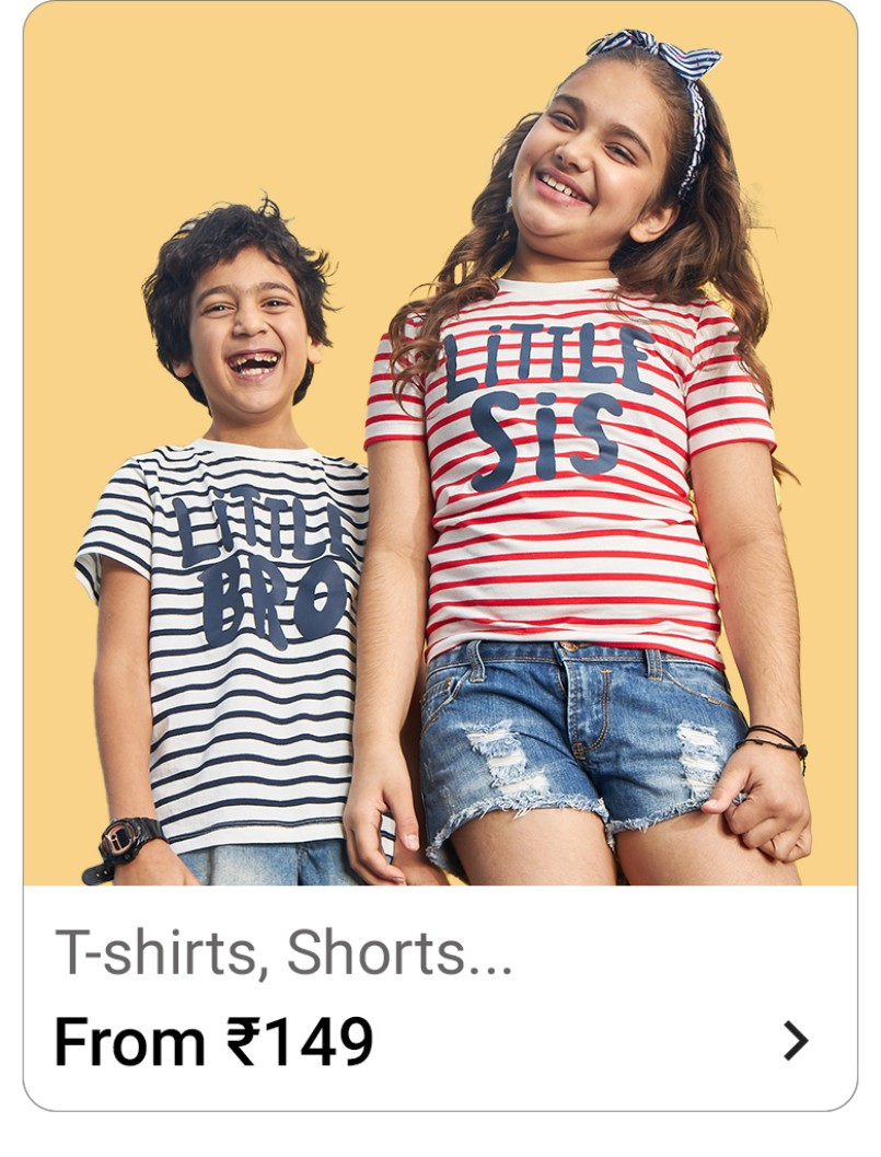 kids tshirts flipkart