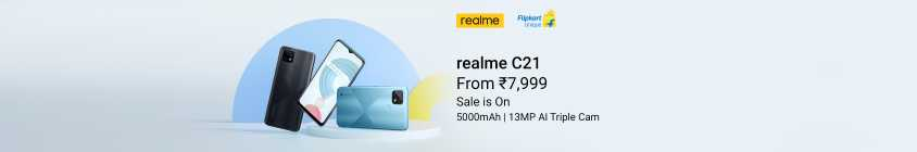 realme C21 - Sale is On
