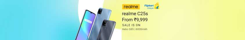 Realme C25-Sale is On