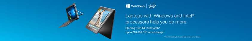 Laptops with Windows and Intel