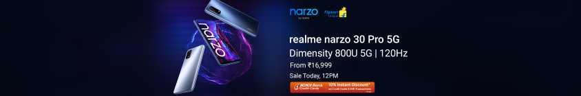 Narzo 30 Pro - Today