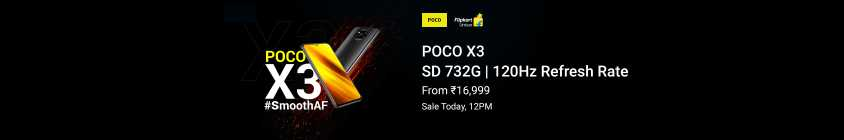 poco X3 Sale today