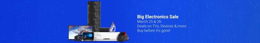 Big Electronics Sale