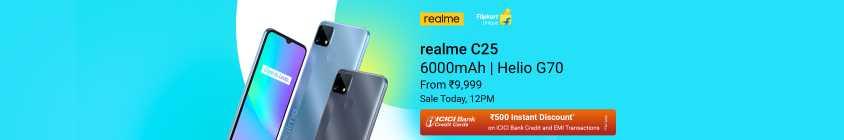 realme C25 - Today