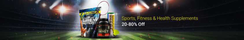 Sport, Fitness & Health Supplements