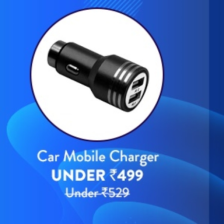 Car Mobile Charger under Rs.499