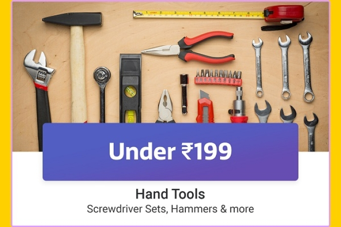 Hand Tools under Rs.199