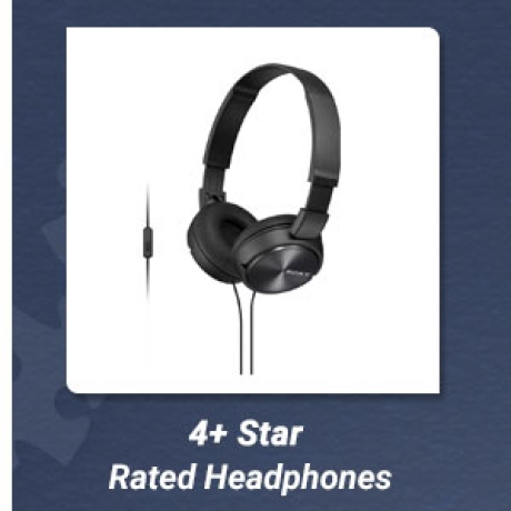 4+ Star Rated Headphones