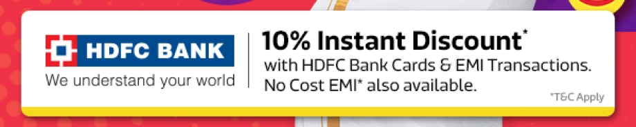 Get Extra Discount from HDFC Bank