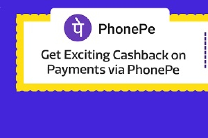 Get Exciting Cashback on Payments via PhonePe