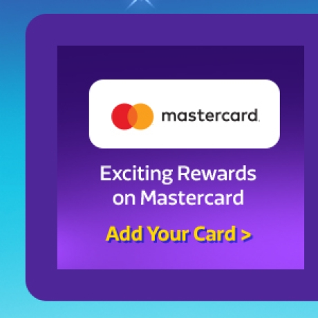 Add your Master Card >