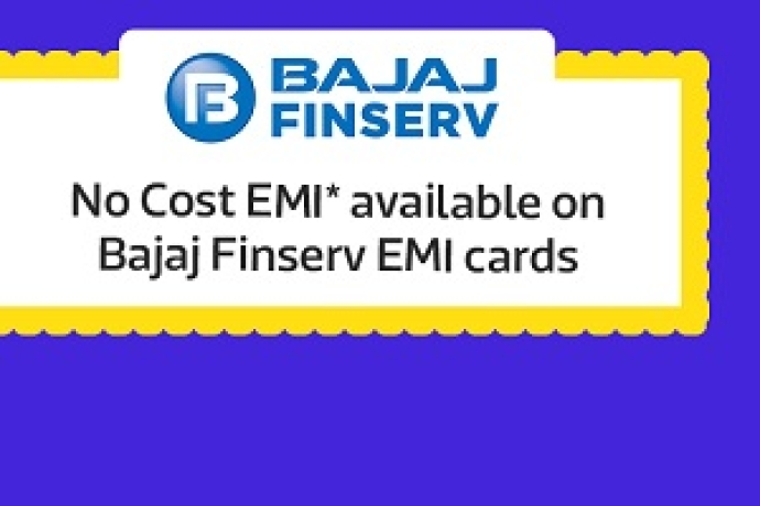 No Cost EMI available on Bajaj Finserv EMI Cards
