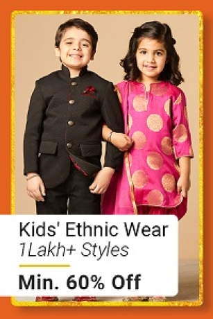 Kids Ethnic Wear at Min.60% Off