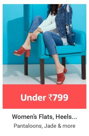 Women's Flats, Heels and more
