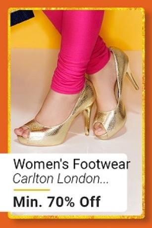 Women's Footwear at Min.70% Off