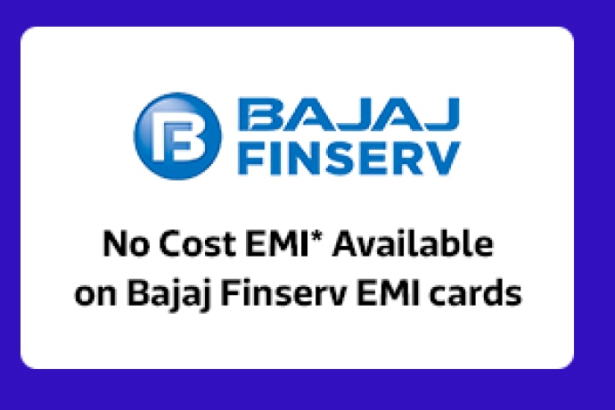 No Cost EMI available with Bajaj Finserv Ltd.