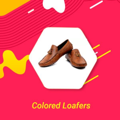 Colored Loafers