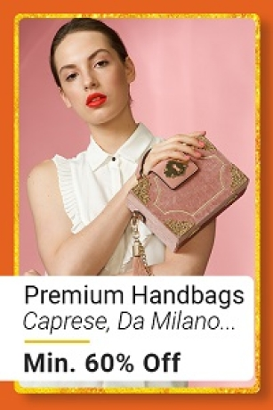 Premium Handbags at Min.60% Off