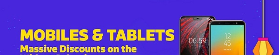 Mobiles & Tablets at Massive Discounts