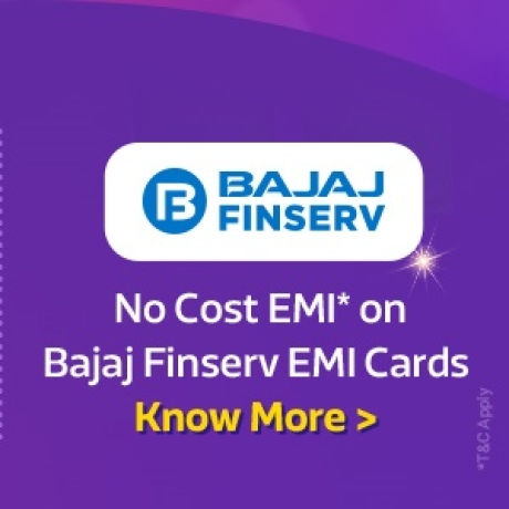 No Cost EMI* with Bajaj Finserv available. Click to know more >
