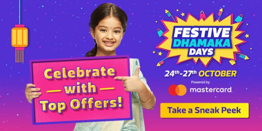 Festive Dhamaka Days! Begins on 24th October. Start Wishlisting NOW!