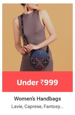 Women's Handbags under Rs.999