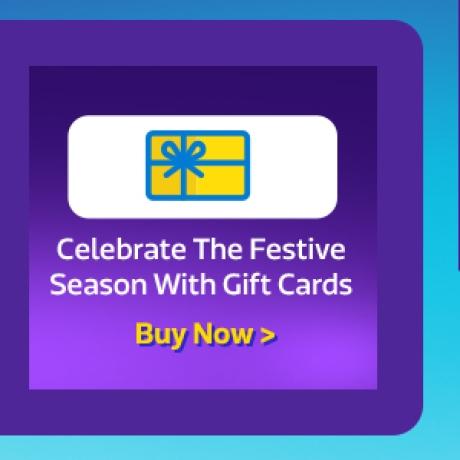 Gift your dear ones a Flipkart Gift Card >