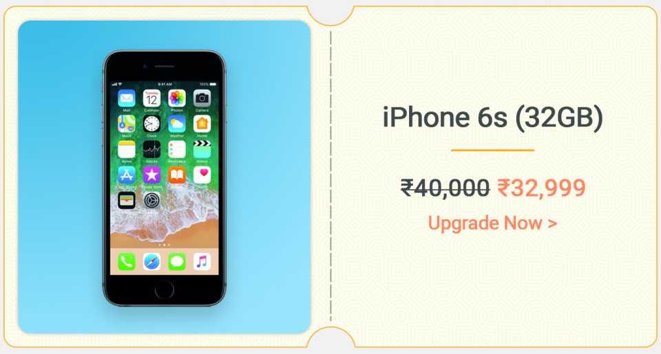 Apple iPhone 6S 32 GB MBS