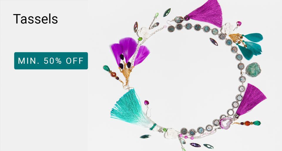 e4ad5214b2e52 Fashion Jewellery - Buy Fashion Jewellery @ Min 70% Off Online ...