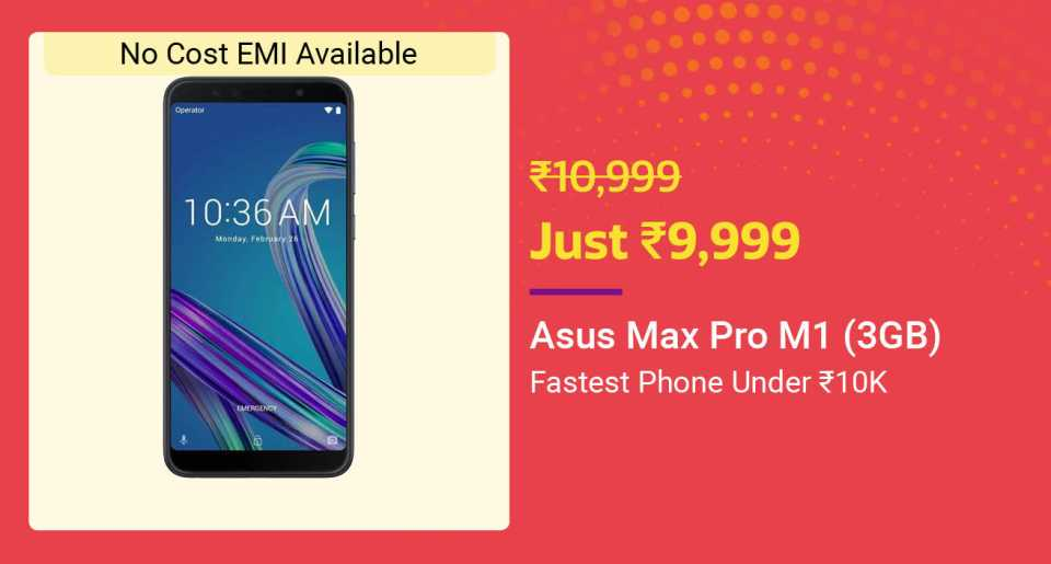 Asus Zenfone max pro m1 up to 3GB
