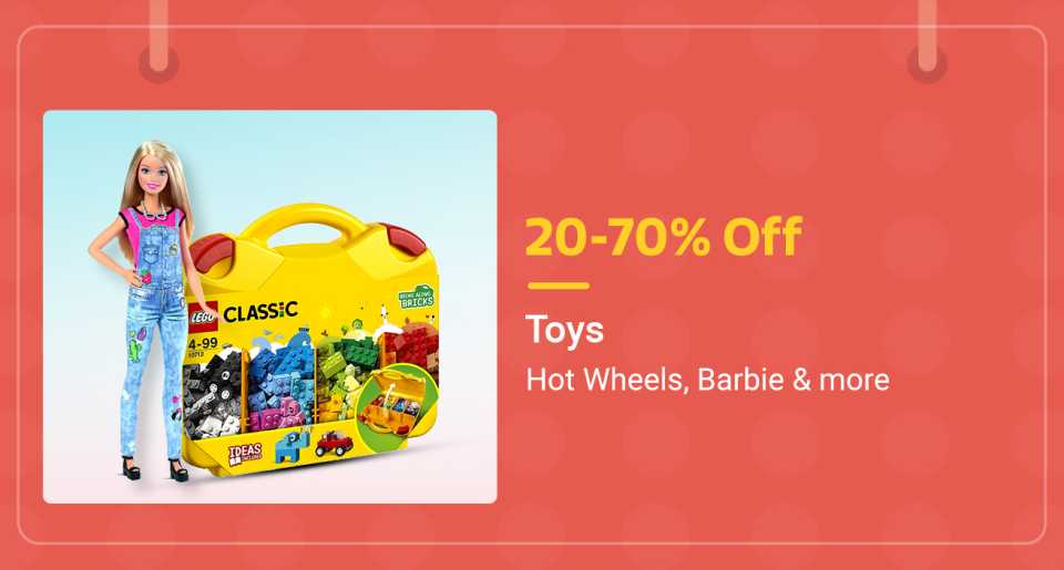 Toys 20-70 off