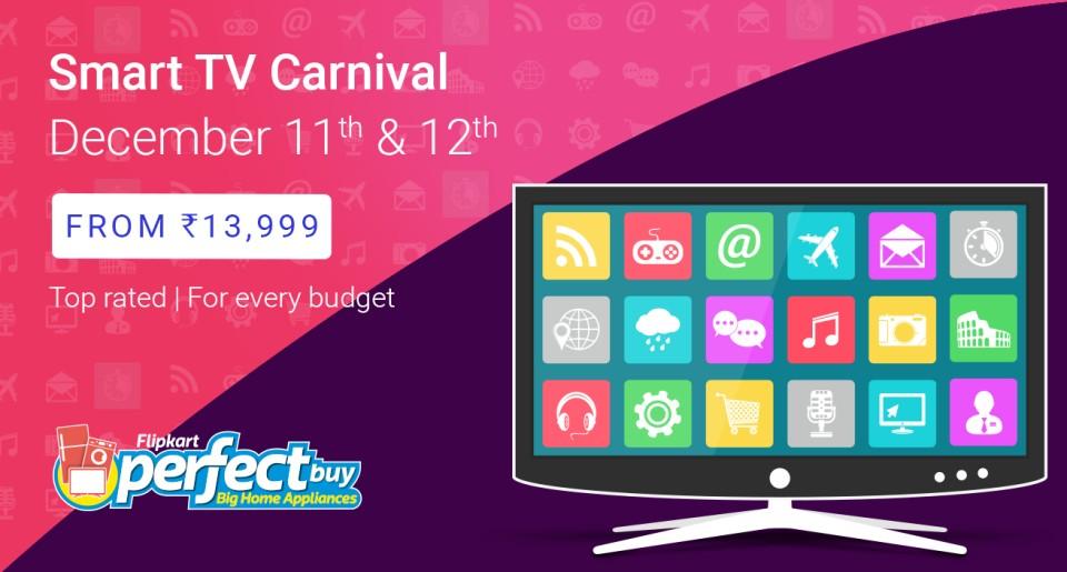 Flipkart Smart TV Carnival Sale Offer