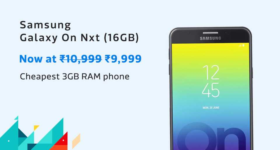 Samsung On nxt 16GB NSC
