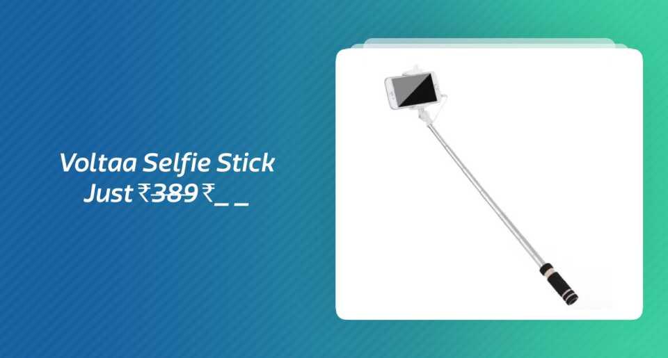 Voltaa Selfie Stick