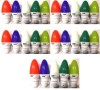 SSR-0.5W-B22-multicolor-LED-Bulb-(Polycarbonate,-Pack-of-25)