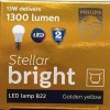Philips-13W-B22-1400L-LED-Bulb-(Yellow,-Pack-of-3)