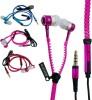 Blau-Funf-Zipper-In-Ear-Headset