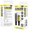 Amzer-AMZ97900-2800mAh-2-Port-USB-Power-Bank-Car-Charger