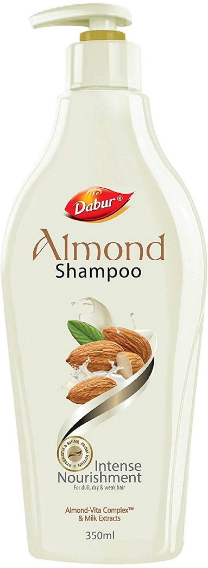 Dabur almond Shampoo 350ml at Rs.67
