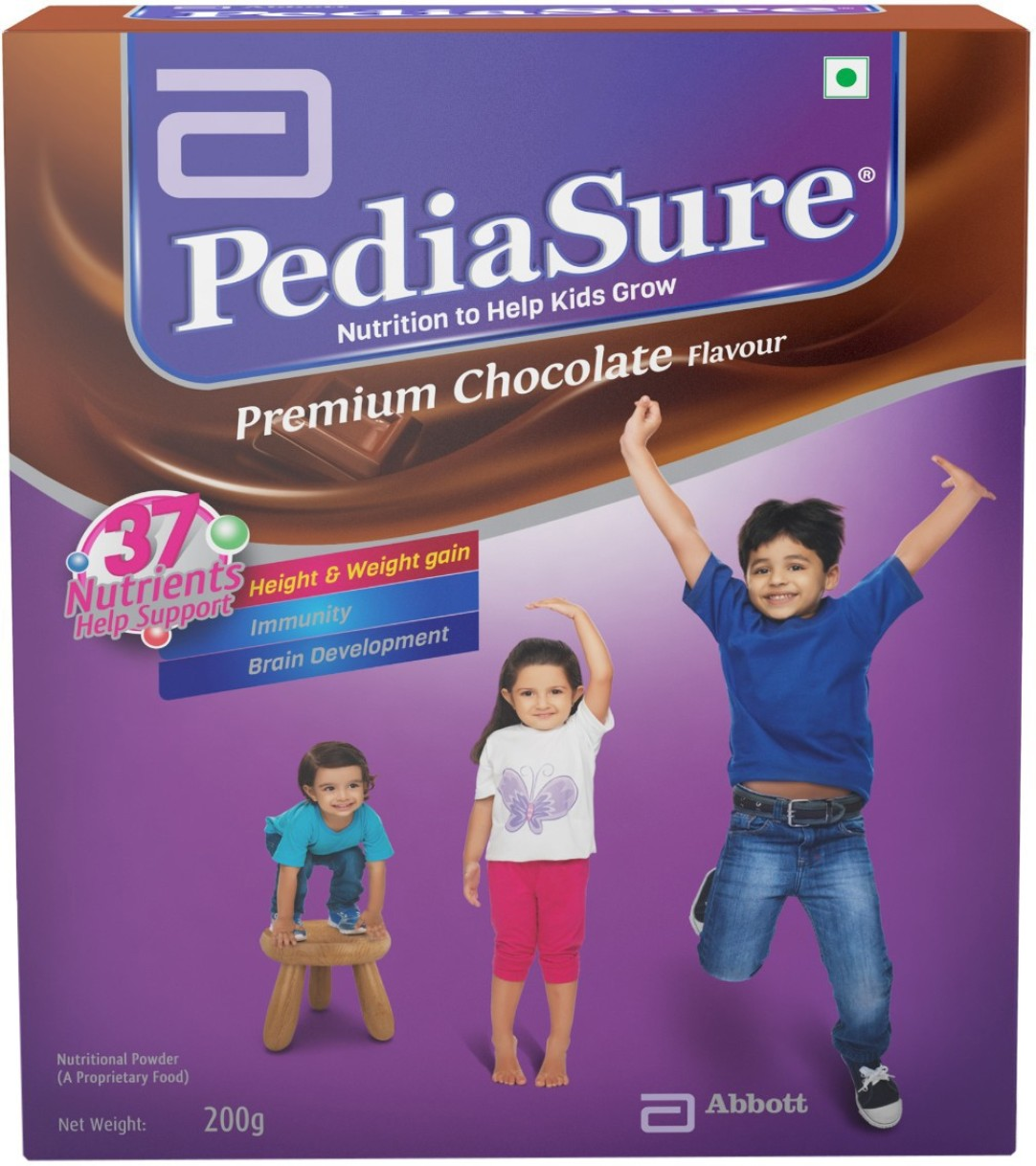 PediaSure Premium Chocolate Refill Pack Nutrition Drink  (200 g, Chocolate Flavored) at Rs.177