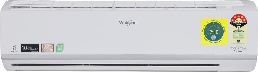 [HDFC Rs. 30999] Whirlpool 1.5 Ton 5 Star Split Inverter AC  - White(1.5T Magicool Pro 5S COPR INV, Copper Condenser) Rs.32999