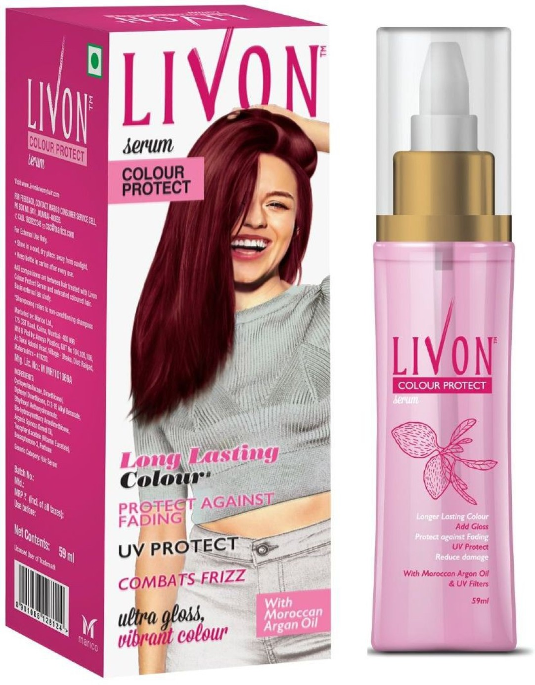 Livon Color Protect Hair Serum (59 ml) Rs.138