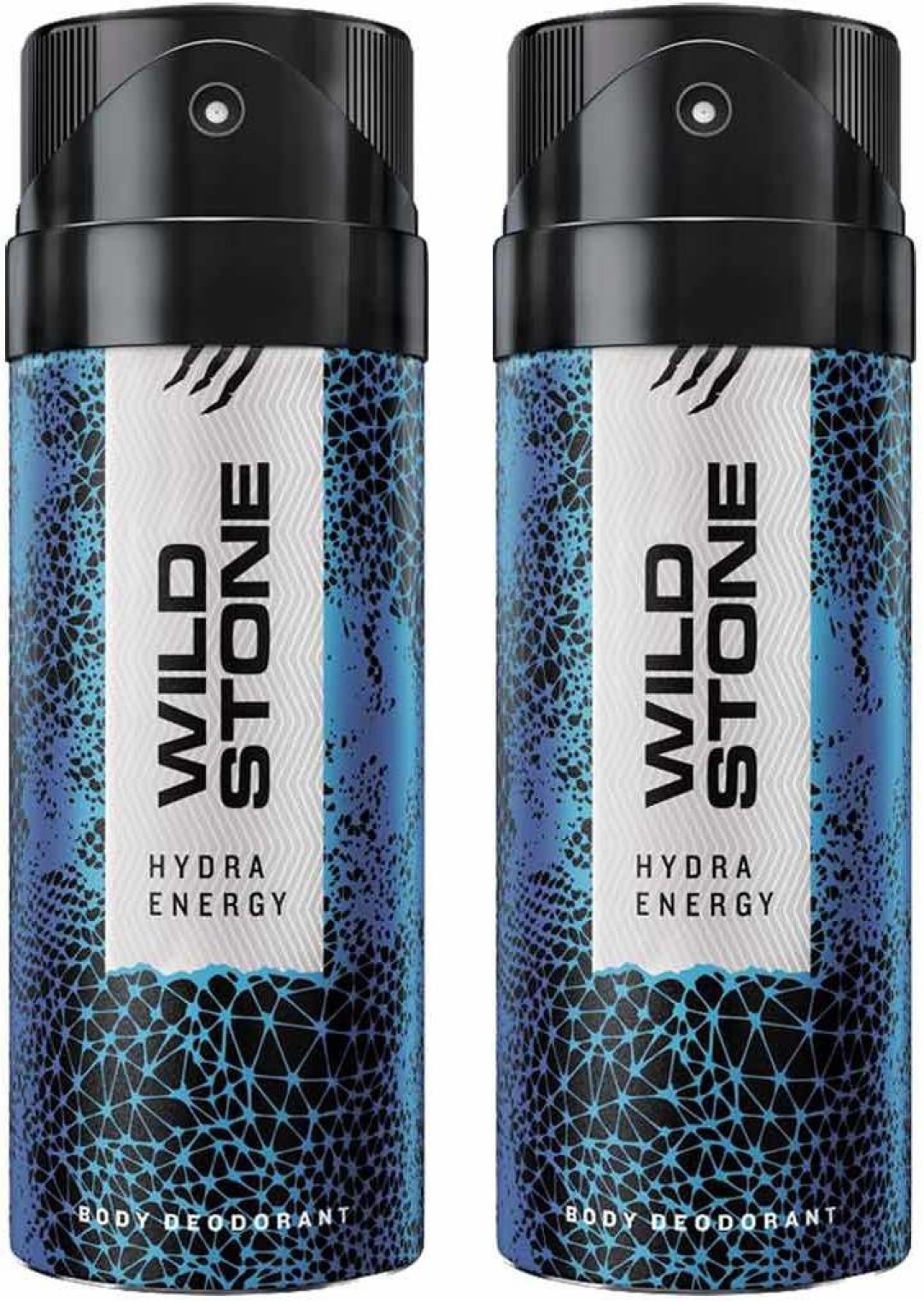 Wild Stone HYDRA ENERGY ( PACK OF 2) Deodorant Spray - For Men  (150 ml, Pack of 2) at Rs.226