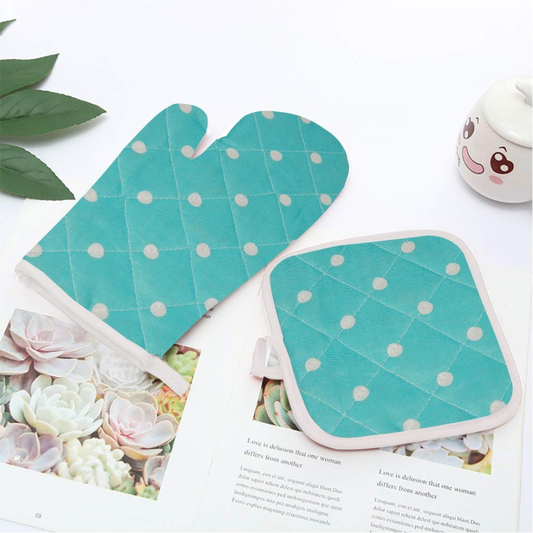 LooManthan Linen Cotton Kitchen Set (Pack of 2) at Rs.99