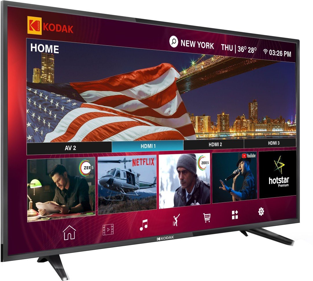 Kodak XPRO 102cm (40 inch) Full HD LED Smart TV  (40FHDXSMART) at Rs.14499